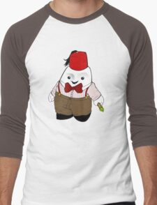 Adipose as the 11th Doctor Men's Baseball ¾ T-Shirt