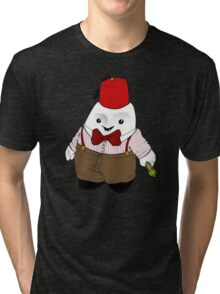 Adipose as the 11th Doctor Tri-blend T-Shirt
