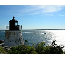 Lighthouse in Rhode Island Photographic Print