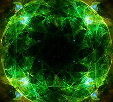Cosmic Heart Chakra by theastrarium