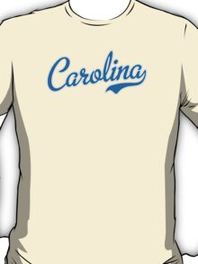 Carolina Script Carolina Blue T-Shirt