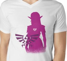 Princess Zelda Mens V-Neck T-Shirt
