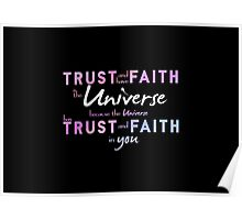 Trust and have Faith Poster