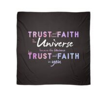 Trust and have Faith Scarf