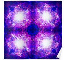 Cosmic Third Eye Chakra Poster