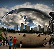 Skyline Bubble by Barbara  Brown
