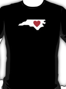 I Love North Carolina T-Shirt