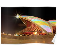 Twinkle a colourful star_Sydney Opera House Poster