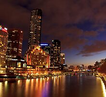 Blue Yarra_Melbourne by Sharon Kavanagh