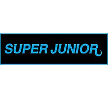 super junior devil logo Photographic Print