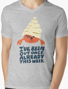 Hermit Crab Mens V-Neck T-Shirt