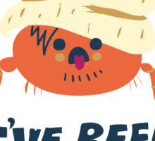 Hermit Crab Sticker