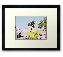 Peter Pan On Soundsational Parade  Framed Print
