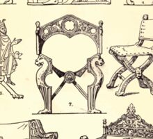 A Handbook Of Ornament With Three Hundred Plates Franz Sales Meyer 1896 0451 Furniture Folding Chair Sticker