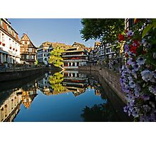Strasbourg Reflections Photographic Print