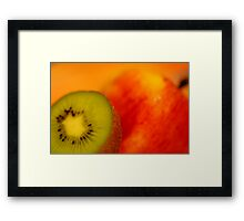 Oranges Are Not The Only Fruit Framed Print