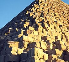 The Great Pyramid, Gizeh, Egypt  by Carole-Anne