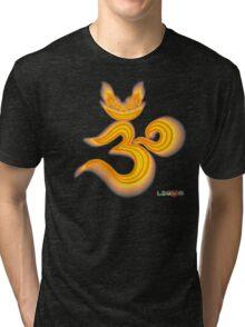 Lucky's Golden Ommmblem Tri-blend T-Shirt