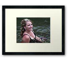 Redneck Bride Framed Print