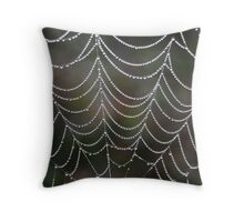 Strands of Pearls Throw Pillow