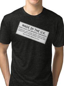 Traces Of Nuts - U.K., Funny Tri-blend T-Shirt