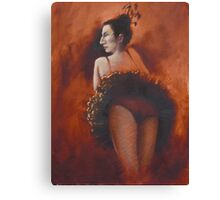french night club entertainer Canvas Print