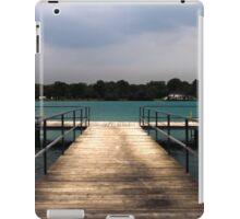 The Edge of the Dock iPad Case/Skin