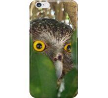 Powerful Owl iPhone Case/Skin