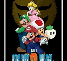 Pixel Super Mario Bros. 2 by SeanDunlop