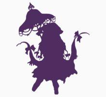 Yakumo Yukari - Touhou Project (Dark Purple) by Sukima