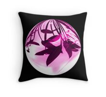 Floating In Purple Light Throw Pillow