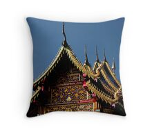 Ornate Temple Throw Pillow