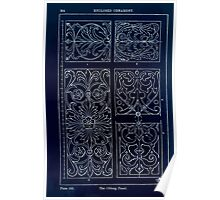 A Handbook Of Ornament With Three Hundred Plates Franz Sales Meyer 1896 0280 Enclosed Ornament Oblong Panel Inverted Poster