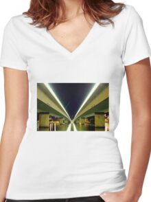 Parliament House Women's Fitted V-Neck T-Shirt