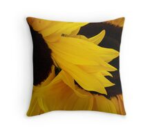 Sunflowers in Santa Cruz Throw Pillow
