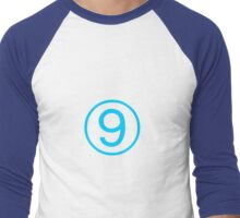 Cirno ⑨ (9) Touhou Project Shirt Men's Baseball ¾ T-Shirt