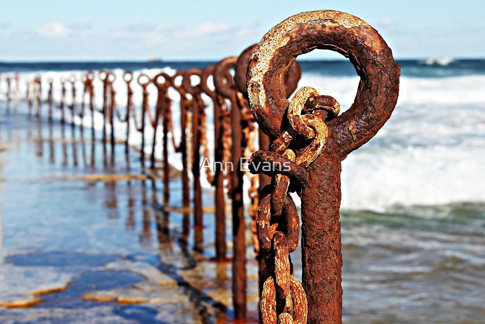 Rusty Rings by Ann Evans