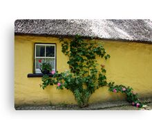 A step back in time: Bunratty Village, Ireland Canvas Print