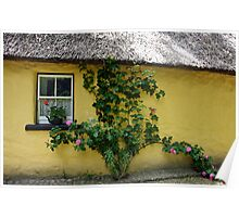 A step back in time: Bunratty Village, Ireland Poster
