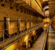 The Hard Yard - Old Melbourne Gaol, Melbourne - The HDR Experence by Philip Johnson