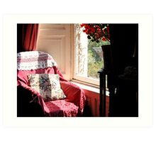 The Chair by the Window Art Print