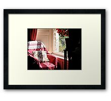 The Chair by the Window Framed Print
