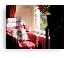 The Chair by the Window Canvas Print