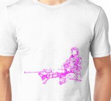 Sitting Soldier Unisex T-Shirt