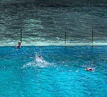 Ice Breakers Swimming Pool - Bondi Beach, Sydney, Australia by Mark Richards