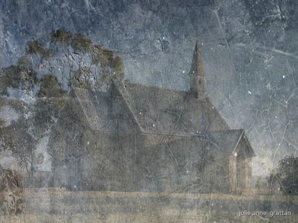 Historic church at Iandra  by julie anne  grattan