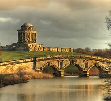 Castle Howard - New River Bridge and Mausoleum by MartinWilliams