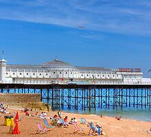 Brighton Pier - Brighton, United Kingdom by Mark Richards