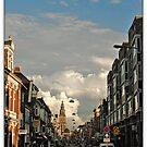 Martinitoren & Nw,ebbingestraat,Groningen stad,the Netherlands,Europe by Aheroy