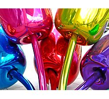 Bilbao Colors of Koons - Guggenheim museum, Basque Country Photographic Print